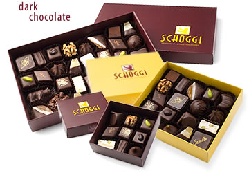 Apricot Boxed Dark Chocolate Assortments