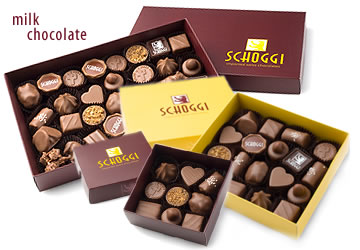 Cassis Boxed Milk Chocolate Assortments
