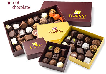 Boxed Mixed Chocolate Assortments